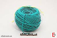Кембрик (агрошнурок) для підв'язування 3 мм зелений 1 кг Кордіолі (Cordioli)