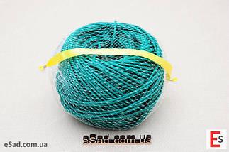 Кембрик (агрошнурок) для підв'язування 3 мм зелений 1 кг Кордіолі (Cordioli), фото 3