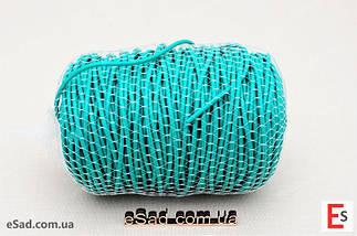 Кембрик (агрошнурок) для підв'язування 4 мм зелений 1 кг Кордіолі (Cordioli), фото 2