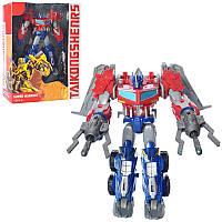 Трансформер 21188-5 робот+машинка, 21 см, оружие, в коробке25-31-10 см