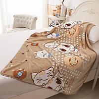 Детское велюровое одеяло в кроватку
