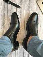Мужские туфли (арт.124 черн к)