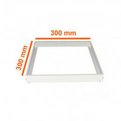 Накладное крепление для светодиодных панелей 300х300