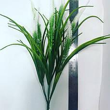 Искусственный,декоративный пластиковый куст с колосом ( 30 см), фото 3