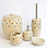 Набор в ванную комнату 5 предметов серия Миси
