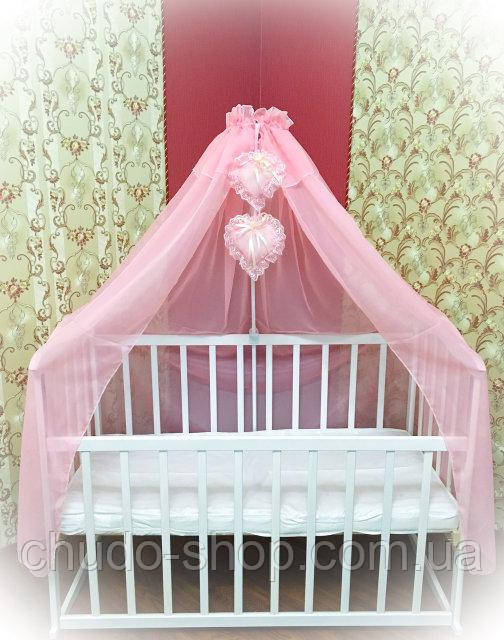 Балдахин на кроватку ТМ Bonna Розовый
