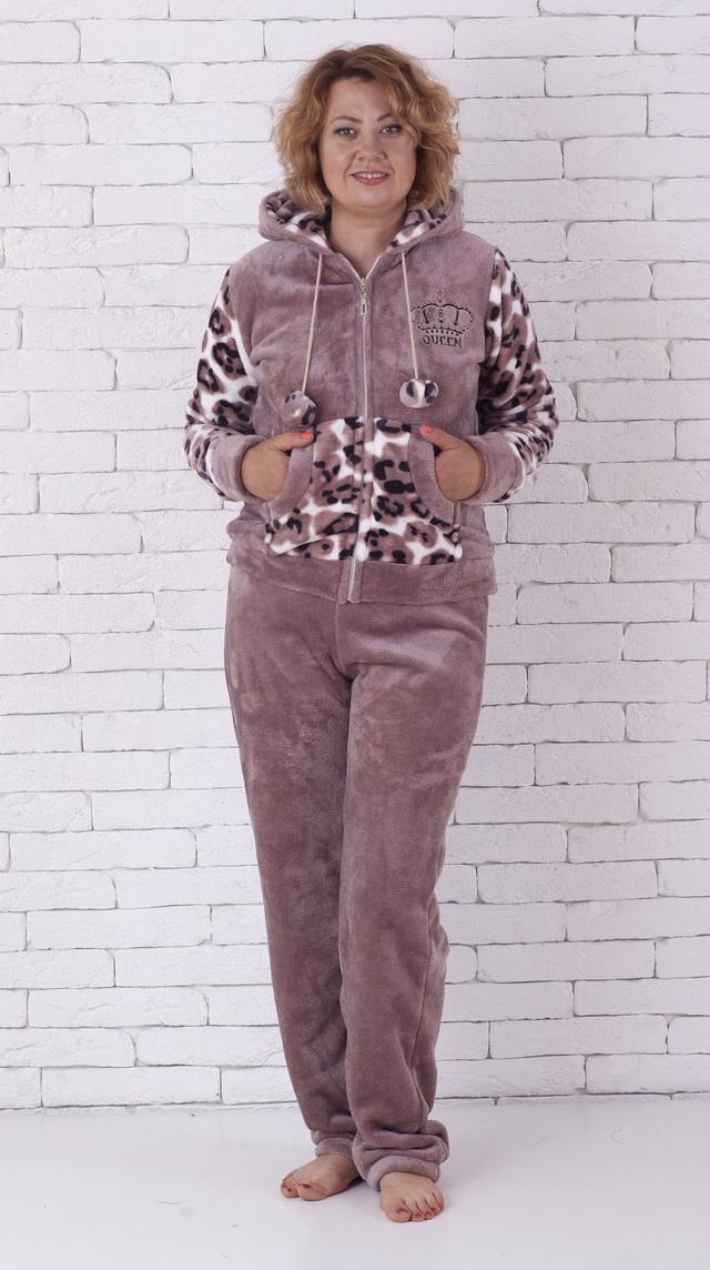 Купить Махровая леопардовая пижама продажа в интернет-магазине ... 4aecbb163aa83