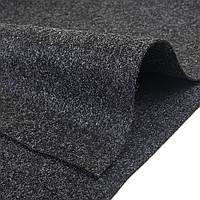 Карпет ШУМОFF для авто (графит) 1.4м*50м ковролин,автоковролин,декоративный облицовочный материал