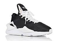 Мужские кроссовки Adidas Y-3 Kaiwa Black/White, фото 1
