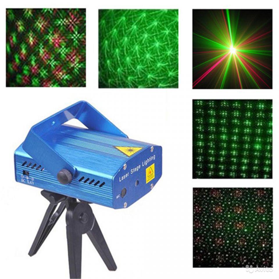 Мини лазерный проектор