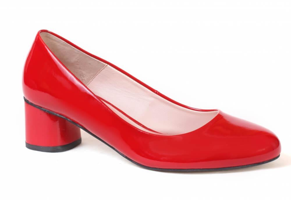 Туфли красные Лидер 3138.25, 36-40 раз