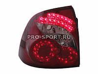 Задние фонари Лада Приора (ВАЗ 2170, 2172, 21728), в стиле Infiniti, светодиодные RS-05184, фото 1