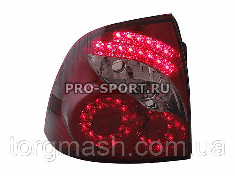 Задние фонари Лада Приора (ВАЗ 2170, 2172, 21728), в стиле Infiniti, светодиодные RS-05184