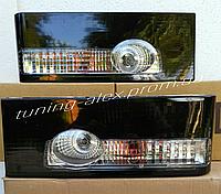 Задние фонари черные (ламповые) на ВАЗ 2108 -2109, ВАЗ 21099, ВАЗ 2113, ВАЗ 2114