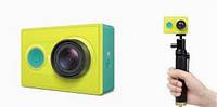 Экшен-камера Action Camera Xiaomi Yi Camera+монопод+блютуз Оригинал