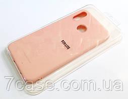 Чехол для Huawei P20 Lite силиконовый Molan Cano Jelly Case матовый розовый