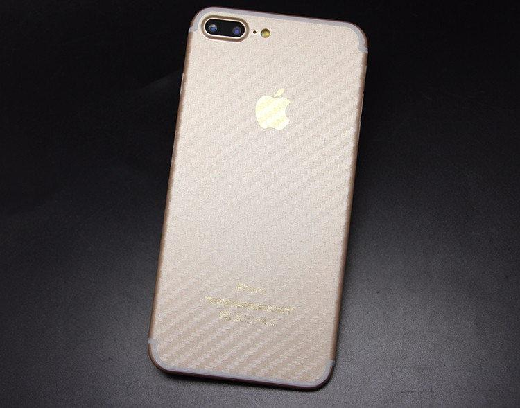 Плівка Carbon для корпусу iPhone 7 Plus