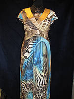 Летнее женское шифоновое платье, 50,52р, фото 1