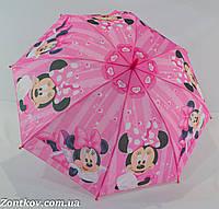 """Детский зонтик """"Минни Маус"""" с пластиковой спицей от фирмы """"Rainproof""""., фото 1"""