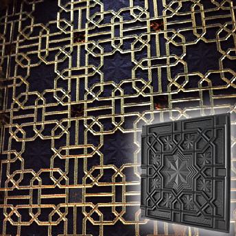 """Форма для 3D панелей """"Султан"""" 500*500 мм"""