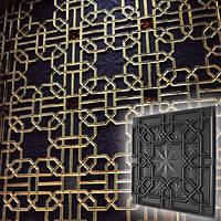 "Форма для 3D панелей ""Султан"" 500*500 мм, фото 1"