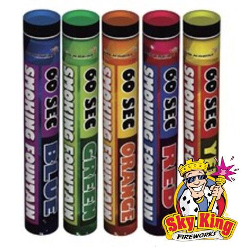 Ручной цветной дым SMOKING  для фото сессий 60 сек 5 шт. MA0512