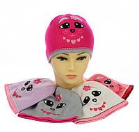 Тонкая шапка для девочки
