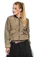 Новинки куртка женская осень бомбер