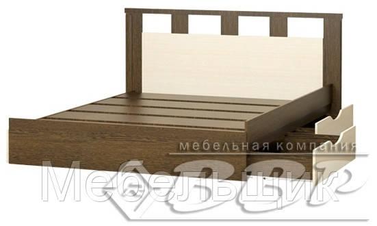 """Кровать с ящиками 1,6м  """"Европа"""""""