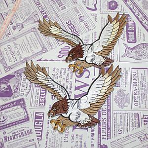 Термоаппликация орел brown