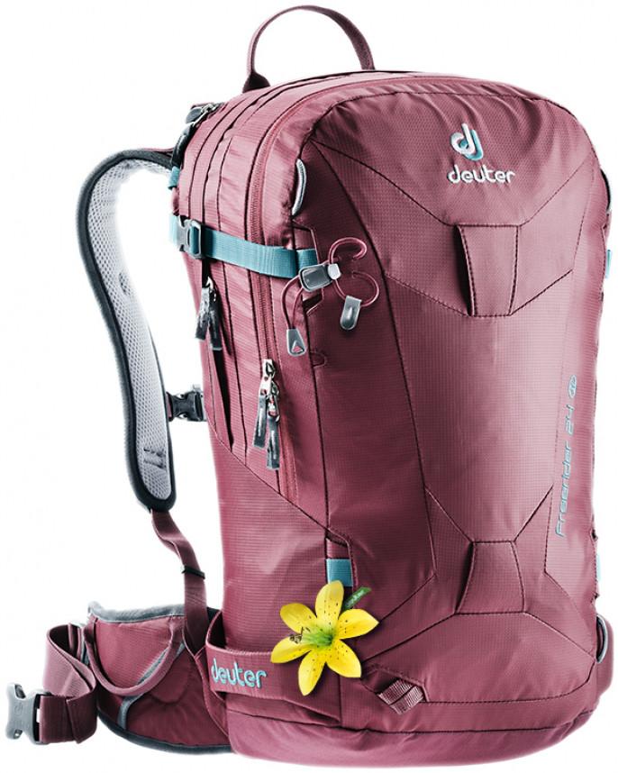Купить Рюкзак туристический Deuter Freerider 24 SL 3303117 5026, 24л. красный