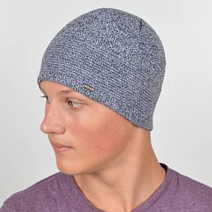 Мужская вязанная шапка NORD меланж, фото 2