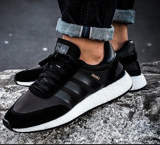 Мужские кроссовки Adidas Iniki Runner Core Black