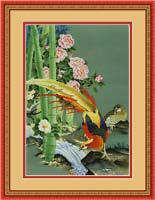 Набор для вышивки крестом RTO R159 «Птицы»