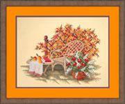 Набор для вышивки крестом RTO R185 «Осень в саду»