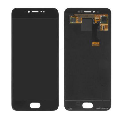 Дисплей (LCD) Meizu Pro 6s с тачскрином чёрный