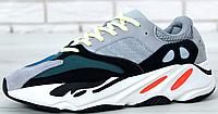 Кроссовки Мужские Adidas Yeezy Boost 700 Wave Runner Grey, адидас изи буст, реплика