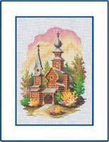 Набор для вышивки крестом RTO M060 «Колокольня»