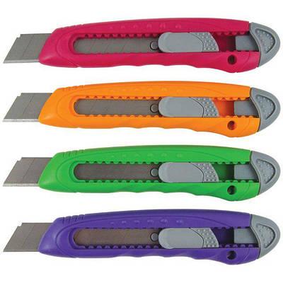 Ножі канцелярські, леза до ножів