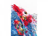 Набор для вышивки крестом RTO M658 «Жареная курица с картошкой!»