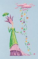 Набор для вышивки крестом RTO M681 «Там, где живут цветы»