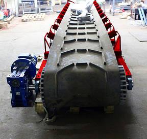 Желобчатые ленточные конвейера шириной 650 мм.