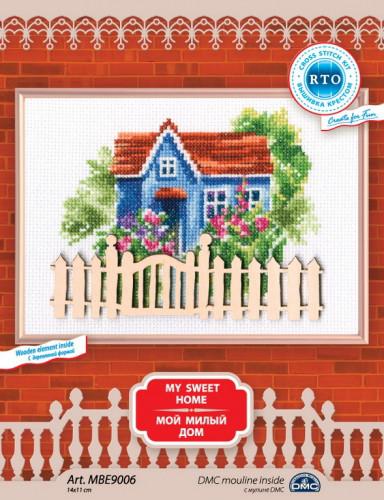Набор для вышивки крестом RTO MBE9006 «Мой милый дом»