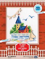 Набор для вышивки крестом RTO MBE9010 «Мой милый дом»