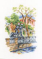 Набор для вышивки крестом RTO M538 «Мосты Петербурга»