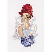 Набор для вышивки крестом RTO M556 «Мечтающая девочка»