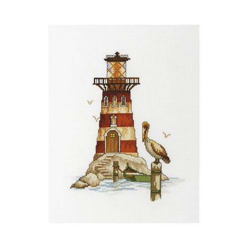 Набор для вышивки крестом RTO M394 Маяк «Гнездо пеликана»