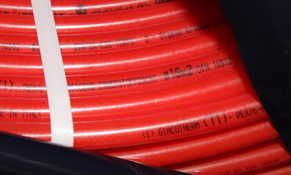 Труба для теплого пола Giacotherm PEX-B 16x2 Италия