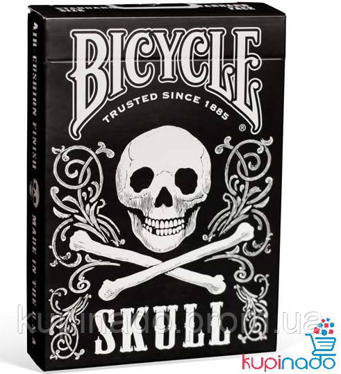 Карты Bicycle Skull Playing Cards
