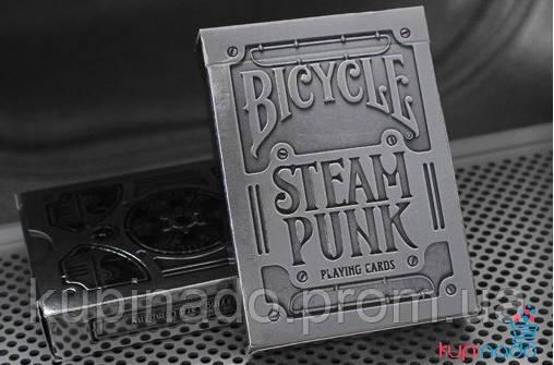 Карты Bicycle Silver Steampunk